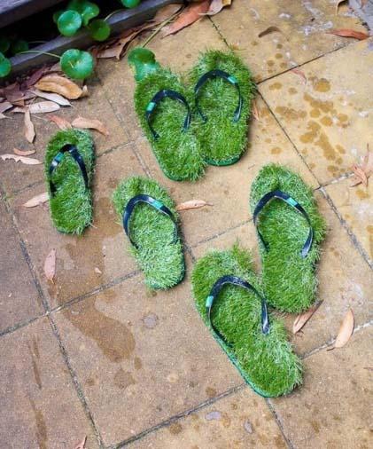 Le confort des pieds de la famille